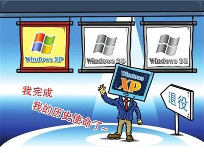 棱镜软件:XP停止服务影响巨大